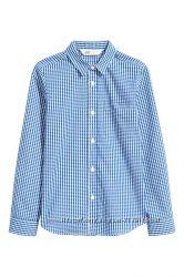 Мальчуковая рубашка НМ в клеточку-р. 14 лет-рост 164- новая