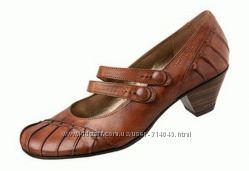 Туфли Tamaris кожа 39 р. 25. 5-26 см по стельке.