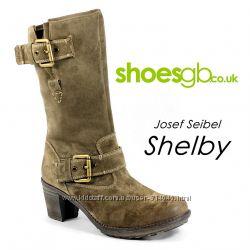 Шикарные сапоги Josef Seibel Shelby 42р. 27-27. 5 см по стельке.