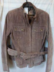 Новая замшевая курточка молодежного бренда New look на 46-48р. Сток