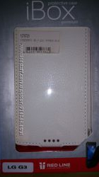 Чехол Ibox для LG Optimus G3 белый