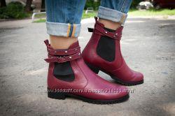 Ботинки-Челси цвет бордо от tm Mirini по доступной цене