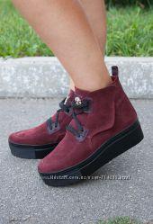Ботинки кожаные большой выбор
