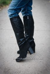 Сапоги кожаные от производителя. Доступные цены