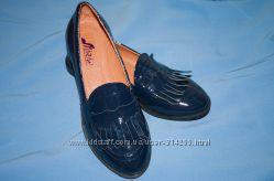 Туфли-лоферы натуральная кожа
