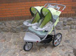 коляска для двойни Instеp Safari Jogger США