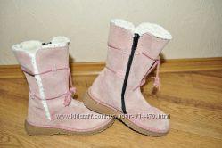 Замшевые сапожки Palomino для девочки.