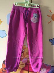 Тёплые штаны для девочки. Спортивные брюки, teddy bear, M&S, штанишки девоч