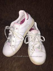 Фирменные кожаные кроссовки Lonsdale. Белые. Оригинал. Кожа, кеды.