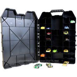 чемоданчик кейс для хранения 48 машинок Хот Вилс Hot Wheels, оригинал США
