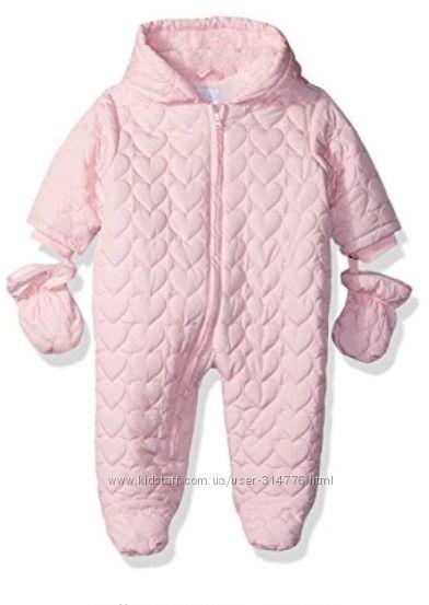 зимний слитный комбинезон на девочку 12 месяцев, Childrens Place США