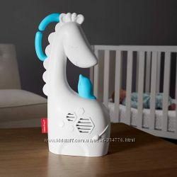 успокаивающая музыкальная подвеска на кроватку Сонный жираф Fisher-Price