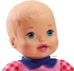 разные пупсы детки для самых маленьких мамочек, серия Little Mommy Mattel