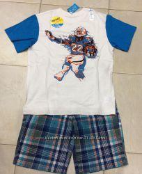 Комплект футболка и шорты Children&acutes Place. Размер 6, S 6 лет