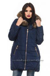 Женская зимняя куртка 46-56р.