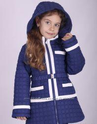 Демисезонное пальто-куртка  для девочки Snowimage 110-134