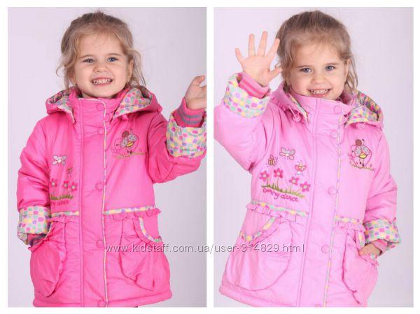 Куртка демисезонная для девочки Donilo 74-92