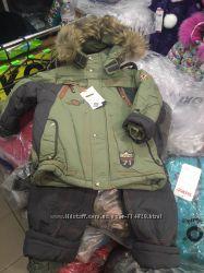 Зимний костюм - комбинезон на мальчика Donilo 2216 110-128 размер