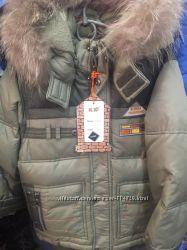 Зимний костюм - комбинезон для мальчиков на пуху Kiko 116-128 размера