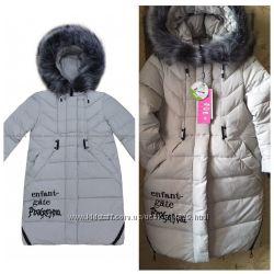 85453b95edc Зимнее пальто kiko 4516 для девочек 134-164 р.