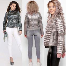 Короткая женская куртка от X-Woyz 8824 42, 44, 46, 48