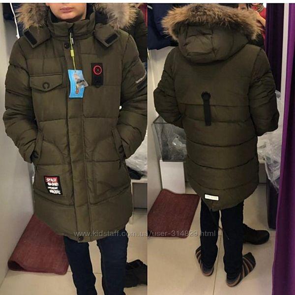 Зимняя куртка для мальчика Donilo 5442 122-170 р.