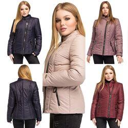 Демисезонная женская куртка большие размеры 48 -58 р.