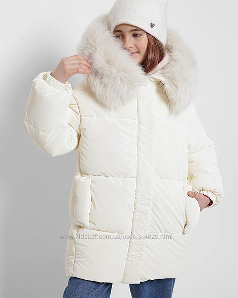 Шикарная зимняя куртка для девочек DT-8322 X-Woyz 110-164 размер