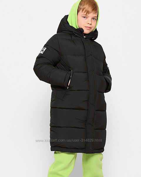 Зимняя куртка - пуховик для мальчика X-Woyz DT-8338 110-164 р.
