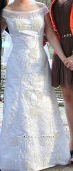 Нежное свадебное платье из Греции