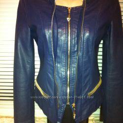 Куртка елегантная качественний кож. заменитель. Суперовая.