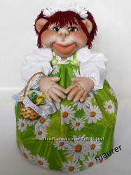 Галинка. Кухонна лялька-грiлка