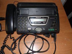 Телефон-факс Panasonic KX-FT76