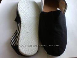 эспадрильи,  балетки тканевые, 39 размер, новые