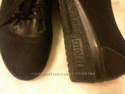 Туфли нубук, Германия, фирма Meisi, размер 39