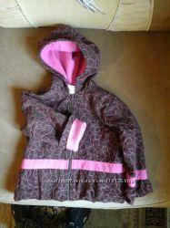 Демисезонная курточка и штанишки на флисе на 2-3 года