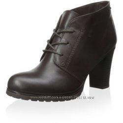 Кожаные ботинки ботильоны джеокс GEOX на ногу 25 см, р 39, стелька 25, 5 см
