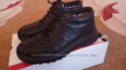 RIEKER Кожаные утепленные ботинки спорт. типа ANTISTRESS