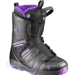 Ботинки сноубордические женские Salomon Pearl BOA р. 36 23 см