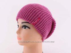 Стильная тепленькая шапка с блеском