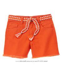 Оранжевые шорты Gymboree на 3 года рост 92-110см.