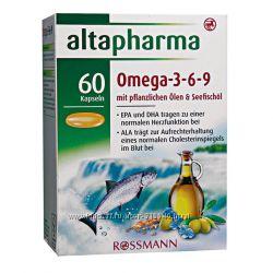 Витамины Омега 3-6-9. Dm. Rossmann. Германия