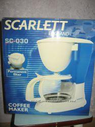 Новая кофеварка SCARLETT SC-030