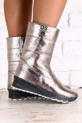 Ультрамодные зимние угги, ботинки, сапожки. Натуральная кожа.