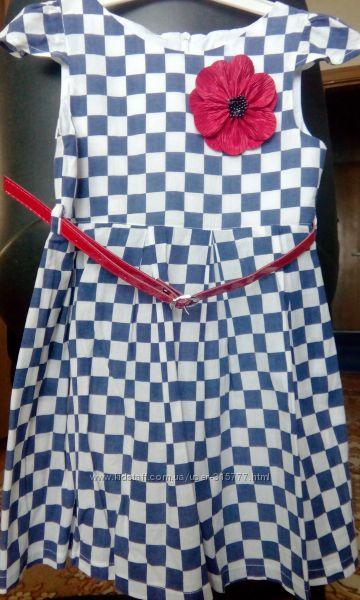 Летнее платье рост 110