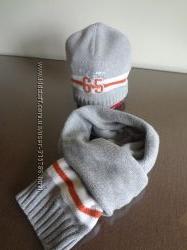 Качественный комплект шапка и шарф Reserved