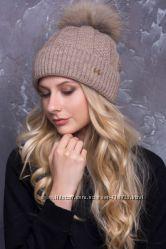 Модные шапки с помпоном