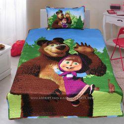 Покрывало Маша и Медведь