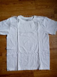 Белая футболка, Fadded Glory, 7-9 лет