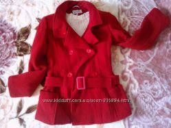 Шерстяное пальто 44р
